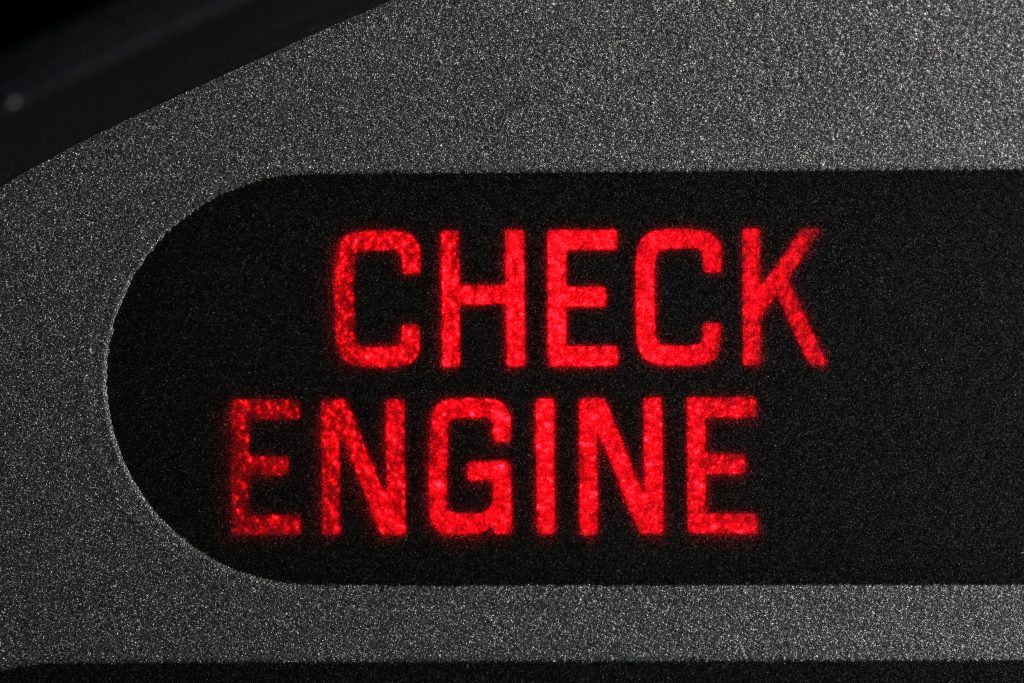 check the check engine light