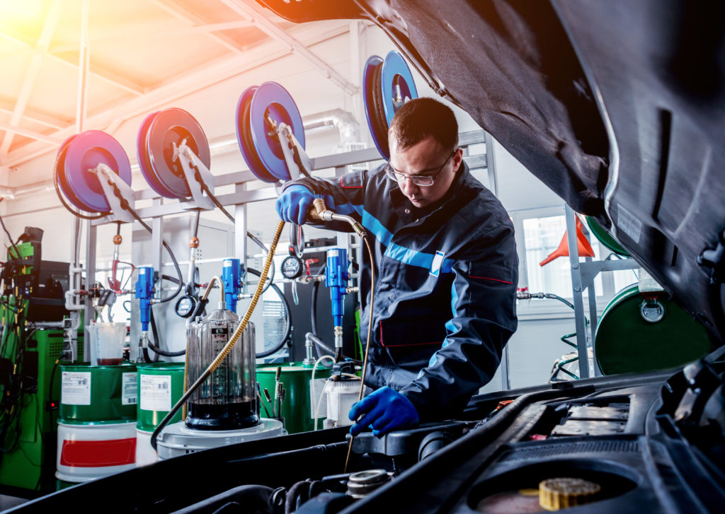 AMSOIL Oil Changes from South Bay Car Care Last Longer